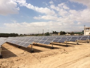 ferme solaire Jéricho